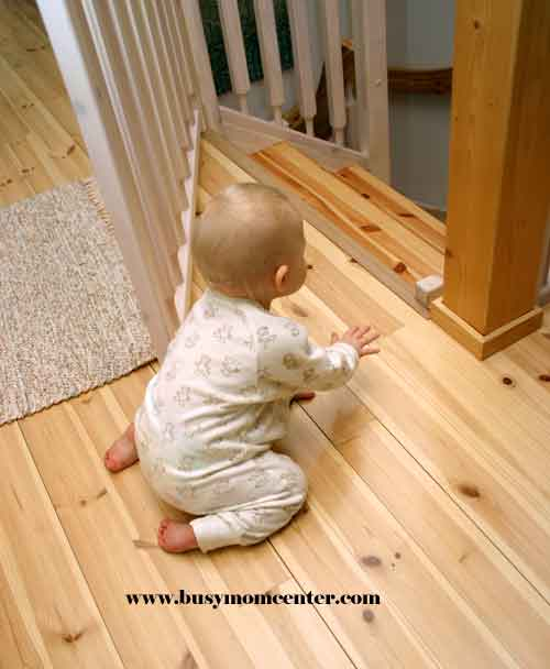 Babyproofing Your Home Stairs