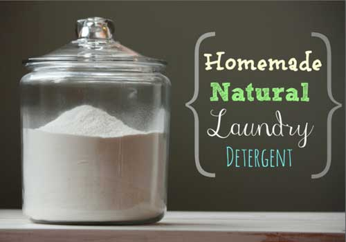 make your own laundry detergent