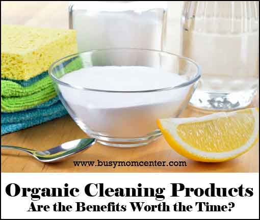 Organic Cleaning - Are the benefits worth the time