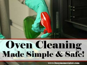 Oven Cleaning Naturally