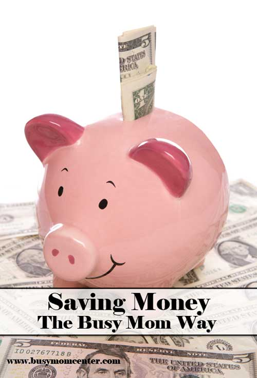 saving money