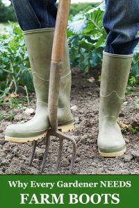 Why Every Gardener Needs Farm Boots