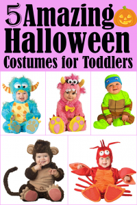 5 Amazing Halloween Costumes for Toddlers