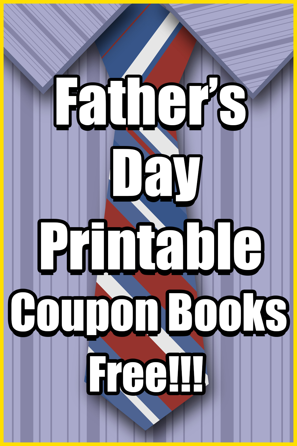 Free Father's Day Coupon Books