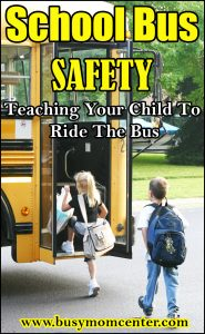 Teaching Your Child to Ride The Bus